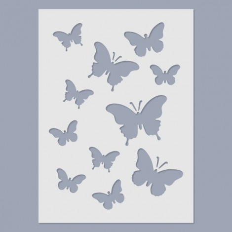 Stencil - Pillangók