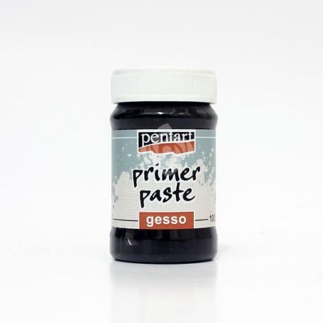 Alapozó paszta, Gesso – fekete – 100 ml