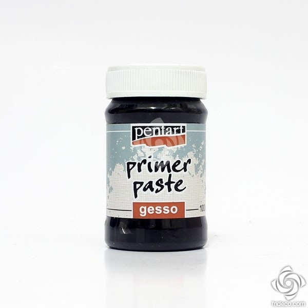 Primer paste, Gesso  – black – 100 ml