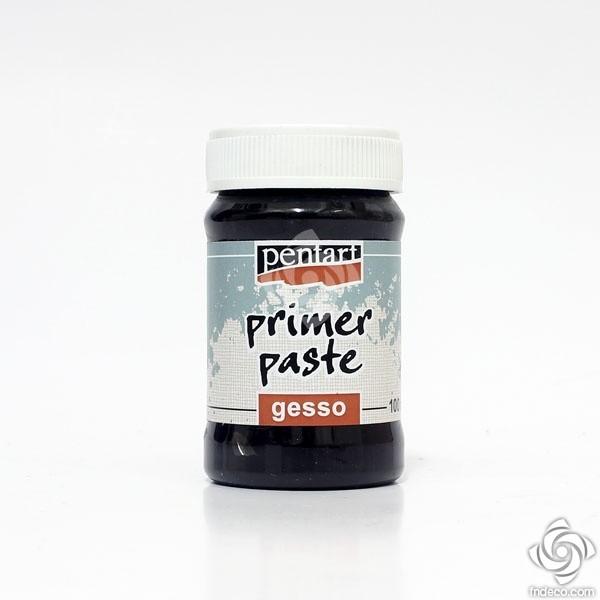 Primer paste, Gesso  – black – 100 ml