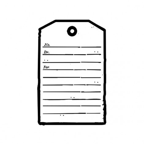 Clear Stamp - Label 2