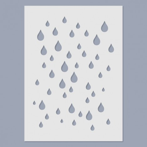 Stencil - Eső