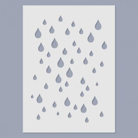 Stencil - Rain