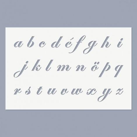 Stencil - Anno ABC - lowercase
