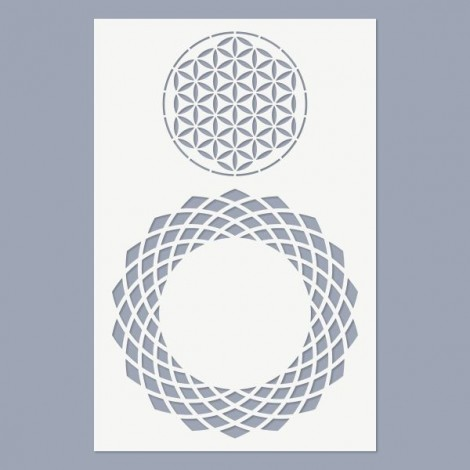 Stencil - Flower of Life