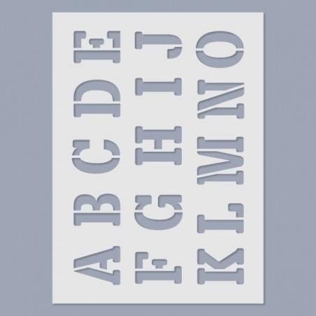 Stencil - ABC letters