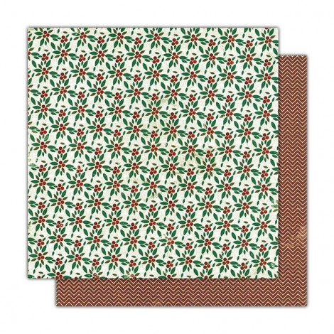Kétoldalas scrapbook papír - AU02