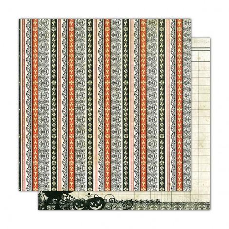 Kétoldalas scrapbook papír - AU11