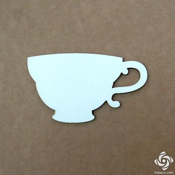 Chipboard - teacup