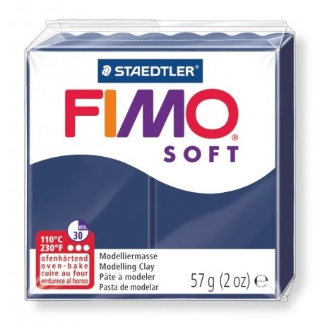 FIMO SOFT - oven-safe clay, 57g - windsor blue