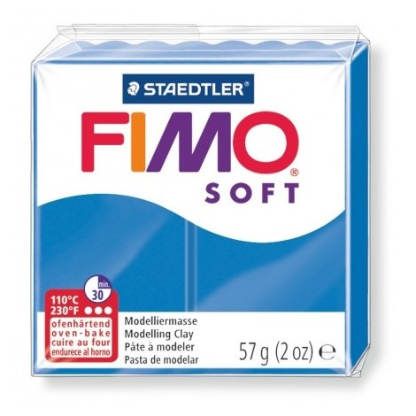 FIMO SOFT - oven-safe clay, 57g - pacific blue