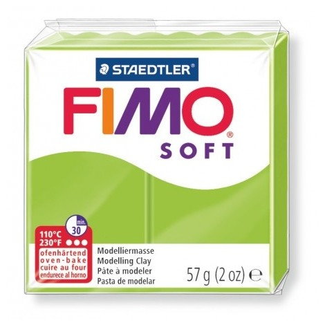 FIMO SOFT - oven-safe clay, 57g - apple green