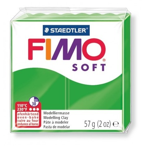 FIMO SOFT - oven-safe clay, 57g - tropical green
