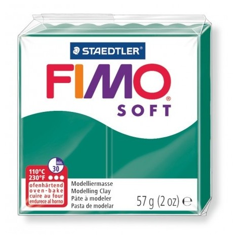 FIMO SOFT - oven-safe clay, 57g - emerald