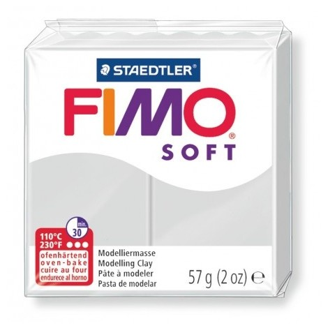 FIMO SOFT - oven-safe clay, 57g - dolphin grey