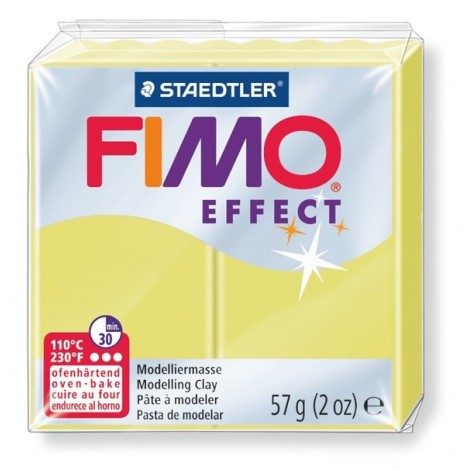 FIMO EFFECT - oven-safe clay, 57g - citrin