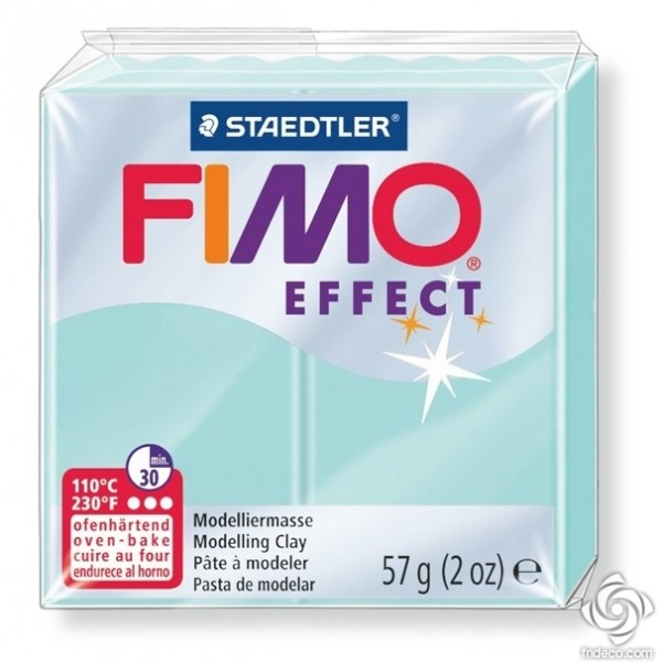 FIMO EFFECT - oven-safe clay, 57g - pastel colour mint