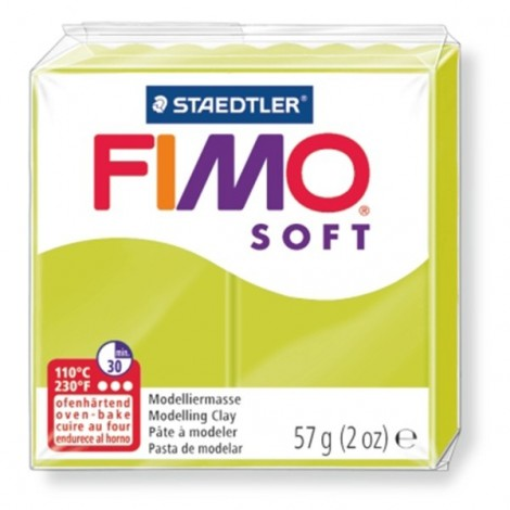 FIMO SOFT - oven-safe clay, 57g - green lime