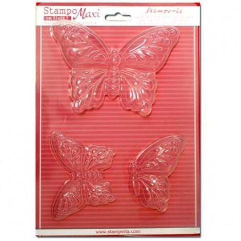 Öntőforma - A4 - Pillangók