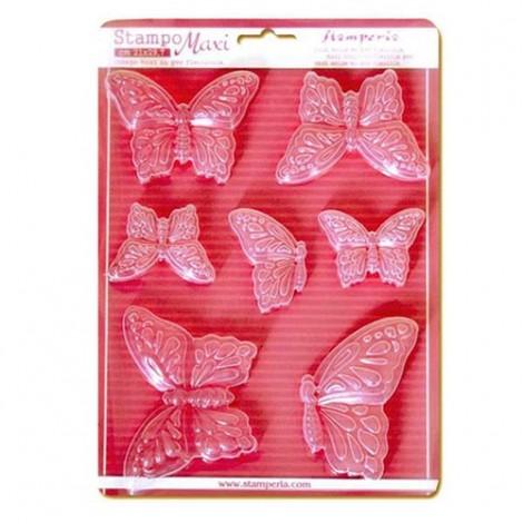Öntőforma - A4 - Butterflies