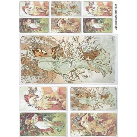 Rice Paper Napkins - A4 - R636