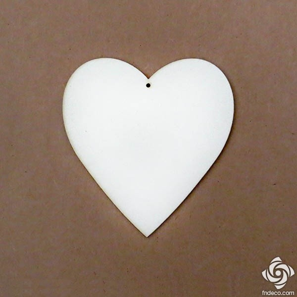 Chipboard - heart