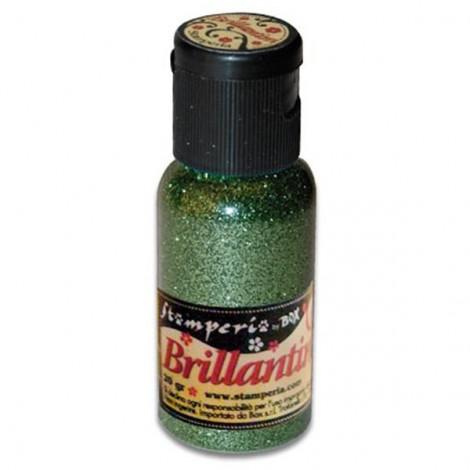 Glitter 20g, emerald green