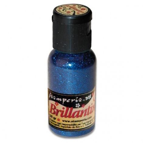 Glitter 20g, blue