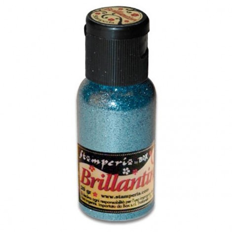 Glitter 20g, powder blue