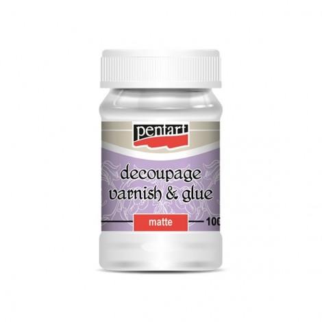 Decoupage Glue and Varnish, matt, 100ml