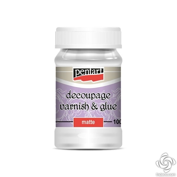 Decoupage Glue and Varnish, matt, 100ml