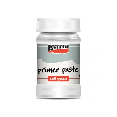 Primer paste, Soft Gesso  – white – 100 ml