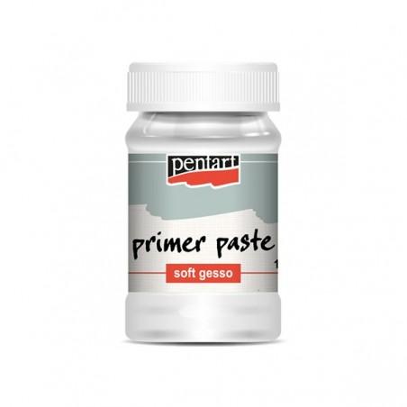 Primer paste, Soft Gesso  – white – 100 ml