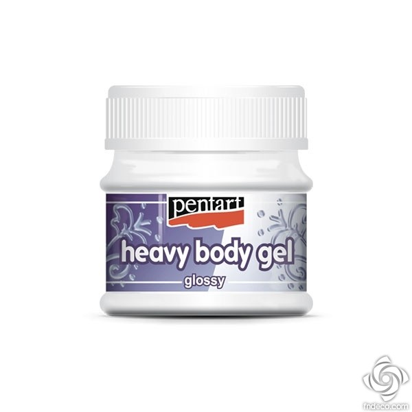 Heavy Body Gel - glossy, 50 ml