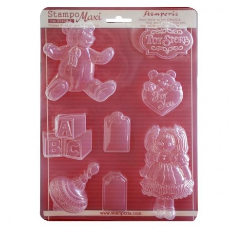 Soft PVC mould - A4 - Toy store