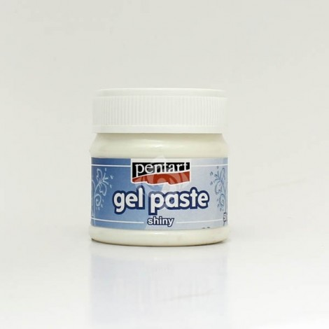Gel Paste - white, shiny, 50 ml