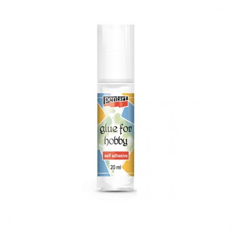 Glue for Hobby - self adhesive, 20 ml