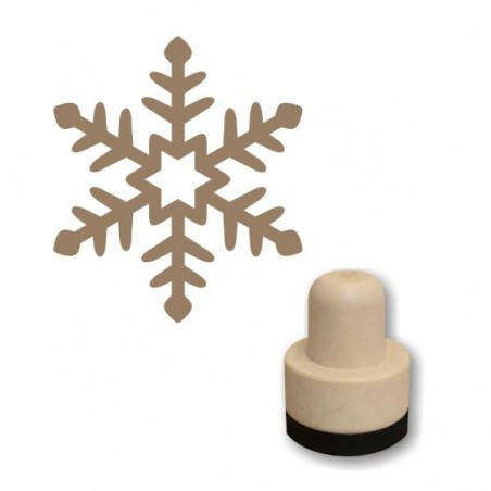Foam stamp - Snowflake 02