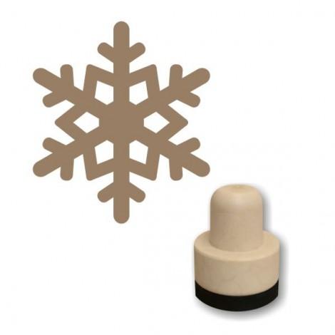 Foam stamp - Snowflake 03