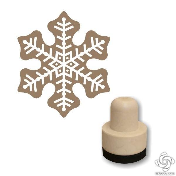 Foam stamp - Snowflake 05
