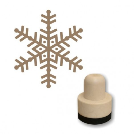 Foam stamp - Snowflake 04