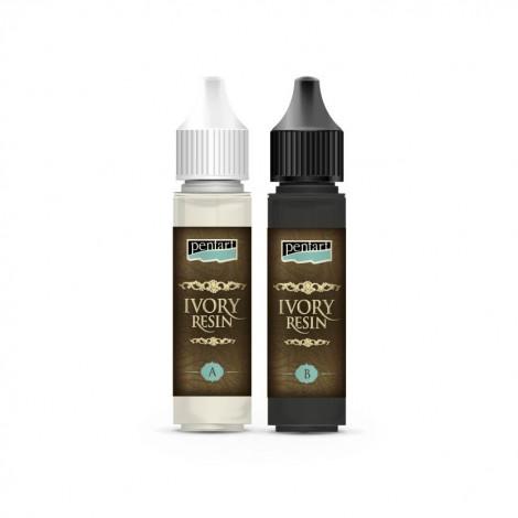Ivory Resin, 2 x 20 ml