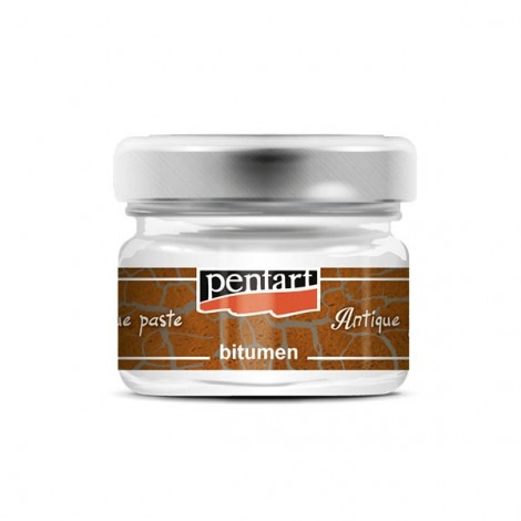 Antiquing paste - bitumen, 20 ml