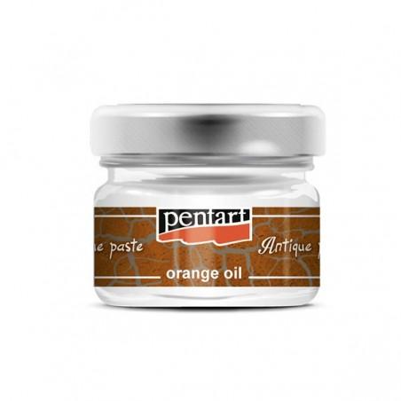 Antiquing paste - orange oil, 20 ml