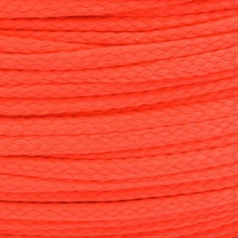 Ékszer zsinór, neon narancs