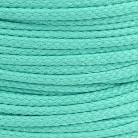 Polyester cord  - turquoise, Ø4mm