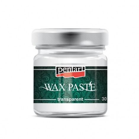 Transparent wax paste, 30 ml