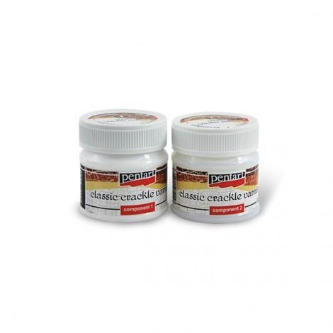 Kétkomponensű klasszikus repesztőlakk, 50 ml