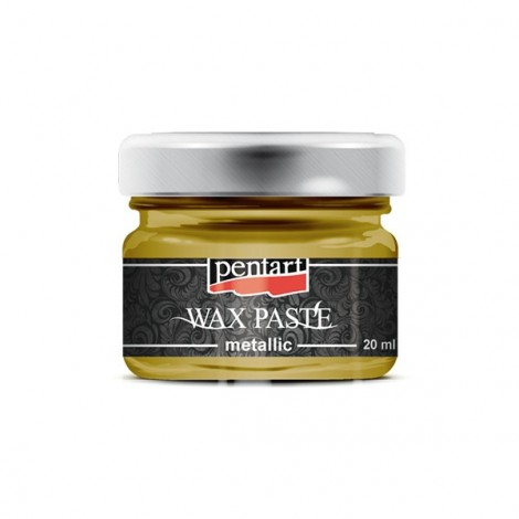 Metallic wax paste, 20 ml