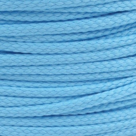 Polyester cord  - blue, Ø4mm